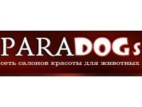 Логотип PARADOGs сеть салонов для животных