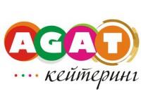 Логотип Agat кейтеринг