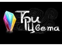 "Логотип Фотостудия ""ТРИ ЦВЕТА"""