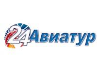 Логотип 24 Авиатур