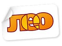 """Логотип """"ЛЕО"""", сеть магазинов"""
