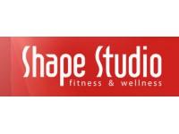 Логотип Shape Studio - Студия Фитнеса и Велнеса
