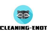 "Логотип ""Енот"" - Клининговая компания"