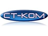 Логотип СТ-КОМ Мастерская по изготовлению изделий из стекла и зеркала
